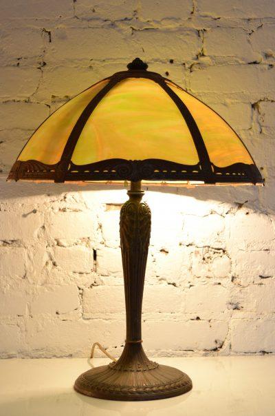 Datant des lampes Fenton